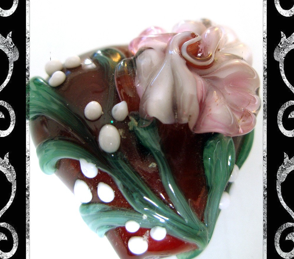 Heart and Soul Lampwork Focal- SRA